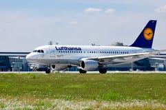 Lufthansa Airbus A319 Royalty Free Stock Image