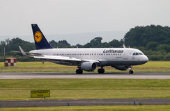 Lufthansa Airbus A320 Royalty Free Stock Photography