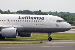 Lufthansa Airbus A320 Royalty Free Stock Image