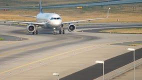 Lufthansa Airbus 320 roulant au sol banque de vidéos