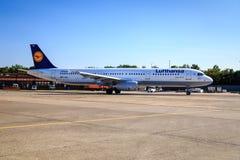 Lufthansa A321 Stock Photography