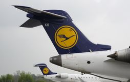 Lufthansa Royalty Free Stock Images