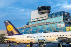 Lufthansa Aircraft Royalty Free Stock Image