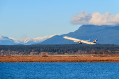 Lufthansa Aircraft Royalty Free Stock Image