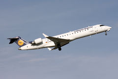 Lufthansa airliner Stock Photography