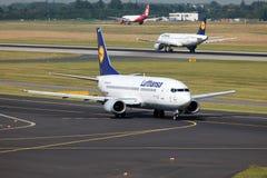 Lufthansa Boeing 737-300 Photo libre de droits