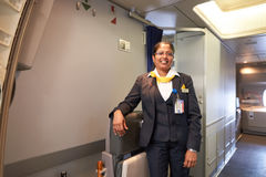 Lufthansa Boeing 747-400 Stockbilder