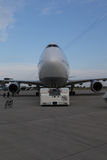 Lufthansa Boing 747-8 Brandeburgo Immagine Stock Libera da Diritti