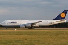 Lufthansa Boing 747-8 Brandenburg Royalty Free Stock Image
