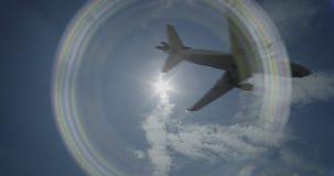 Lufthansa Cargo McDonnell Douglas MD-11F está aterrizando almacen de video