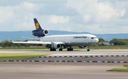 Lufthansa Cargo MD-11 Imagem de Stock Royalty Free