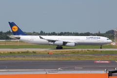 Lufthansa Royalty Free Stock Image