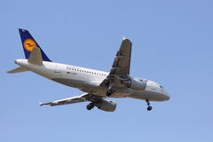 Lufthansa-Flotte - Airbus A320 Lizenzfreie Stockfotografie
