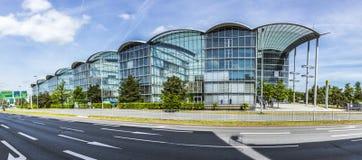Lufthansa headquarter in Frankfurt, Germany Stock Photos