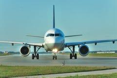 Lufthansa Luchtbus A320 stock foto