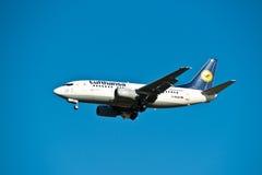 Lufthansa luchtvaartlijn Stock Afbeelding
