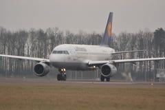 Lufthansa plane Stock Photos