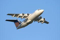 Lufthansa Regional Airliner stock image