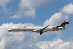 Lufthansa Regional Bombardier CRJ900 Stock Photos
