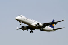 Lufthansa Regional Embraer Stock Photos