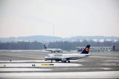 Lufthansa Schweinfurt Airbus A319-100 TÄGLICH lizenzfreie stockfotografie