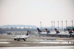 Lufthansa Schweinfurt Airbus A319-100 TÄGLICH lizenzfreie stockbilder