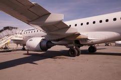 Lufthansa spiana Immagine Stock