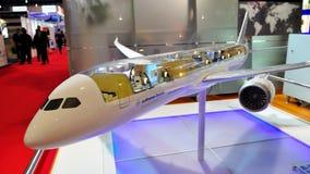 Lufthansa Technik VIP & executive jet model Royalty Free Stock Images