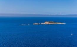 Adriatc Landschaft Stockbild