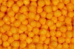 Luftige Käse-Kugeln Stockbild