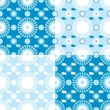 Luftiges nahtloses Muster Stockbilder