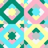 Luftiges quadratisches Muster Lizenzfreie Stockfotos