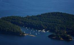 Luftinselansicht Lizenzfreie Stockbilder