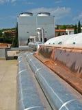 Luftkühlungsystem Stockfotografie