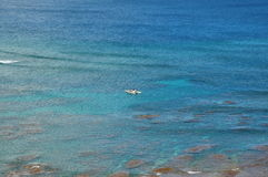 Luftkauai-Ozean-Ansicht Lizenzfreie Stockbilder