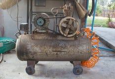 Luftkompressor Fotografering för Bildbyråer