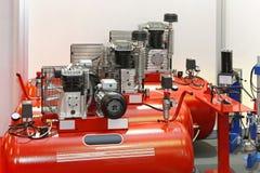 Luftkompressorer Royaltyfria Foton