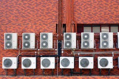 Luftkonditioneringsapparat Arkivfoto