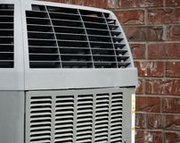 Luftkonditioneringsapparat fotografering för bildbyråer