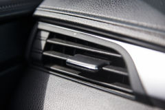 Luftkonditioneringsapparat i bilen Arkivbilder