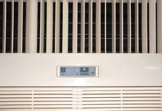 Luftkonditioneringsapparaten meny är en grupp av specifikt planlagda funktioner för luftvillkor` s royaltyfria bilder