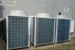 Luftkonditioneringsapparatenhet royaltyfri bild