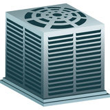 luftkonditioneringsapparatenhet Arkivfoton