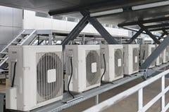 Luftkonditioneringsapparater arkivfoto