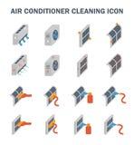 Luftkonditioneringsapparatlokalvård vektor illustrationer