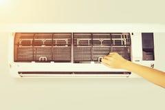 Luftkonditioneringsapparatlokalvård royaltyfri foto