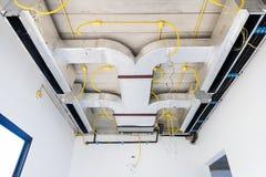 Luftkonditioneringsapparatsystem arkivfoton