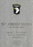 101. Luftlandedivision Stockfotografie