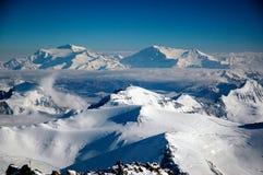 Luftlandschaft in Aconcagua Lizenzfreie Stockfotografie