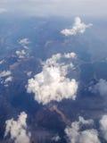 Luftlandschaftsansicht Stockfotografie